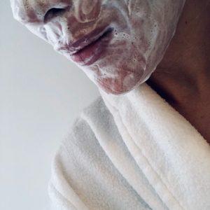 Laat de zeep enkele minuten intrekken voor het beste resultaat