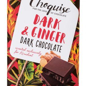 Dark Ginger - Choquise chocolade