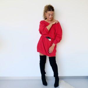 Rode jurk Ivyrevel, ik draag maat S