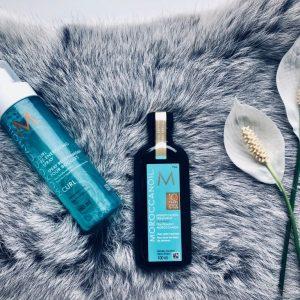 Curl Re-energizing spray & arganolie
